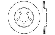 StopTech Sport Drilled/Slotted Disc fits 2005-2009 Ford Mustang  STOPTECH