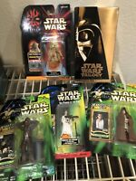 Star Wars Collectibles Lot of 5, VHS & 4 Action Figures