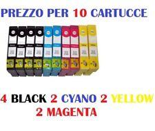 10 CARTUCCE PER EPSON SX105 SX110 SX115 SX200 SX205 CARTUCCIA COMPATIBILE