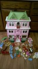 FISHER PRICE LOVING FAMILY GRAND MANSION DOLL HOUSE Furniture LOADED