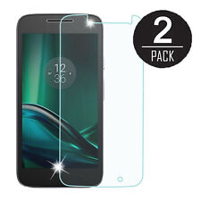 2X 9H 2.5D Hardness Tempered Glass Screen Protector for Motorola G4 Play XT1607