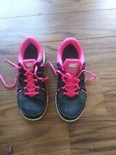 Nike Womens Dual Fusion Run 2 Running Shoes (599564-006) Black-Pink Size 9