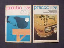 DDR Zeitschrift Practic Jahrgang 1972, Nr.1 und 2, Modellbau und Basteln, FDJ