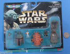 MICRO MACHINES heads 1996 Star Wars - BOBA FETT ACKBAR GAMORREAN GUARD Galoob