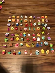 Lot of 80 Shopkins - All Different Season - Some rare  must see