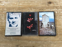 The Smiths Depeche Mode And The Who, Strangeways Here We Come Plus Cassettes