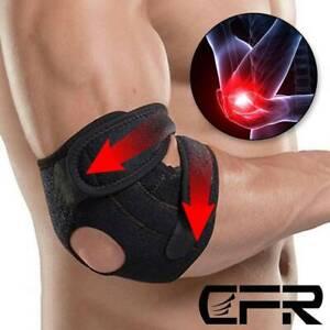 Tennis Elbow Brace Support Sleeve Arthritis Tendonitis Arm Joint Pain Band Wrap