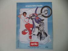 advertising Pubblicità 1991 MOTO APRILIA RX 125 SIX DAYS