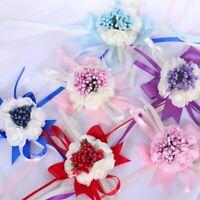 Wedding Party Wrist Corsage Bracelet Bridal Bridesmaid Sisters Hand Wrist Flower