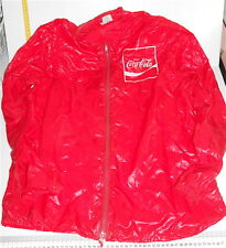 COCA COLA 70s italy Vintage promo jacket waterproof - giubotto giacca impermeabi