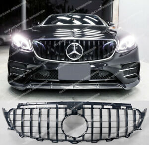 Mercedes E class c238 a238 coupe cabriolet convertible AMG GT Grille Gloss Black