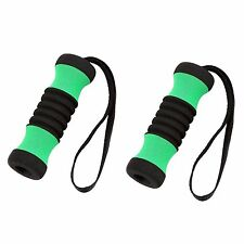 SALE 2 GREEN Cane Replacement Handle Grips for Offset Aluminum Walking Canes