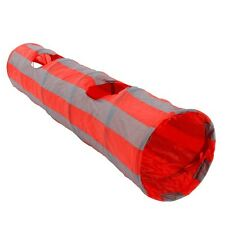 Cat Kitten Tunnel Toy Foldable 2 Hole Crinkle Rabbit Collapsible Animals Tube
