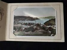 OLD VINTAGE / ANTIQUE GREETINGS CARD - OBAN ND THE SOUND OF KERRERA POSTCARD