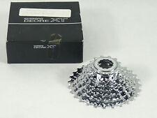 Shimano XT M737 Cassette M737 8 Speed 11-28 Vintage Mountain Bike Racing NOS