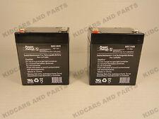 RAZOR ELECTRIC SCOOTER 12 V BATTERY FITS  E100, E125, E150, E175  LOT OF 2 *NEW