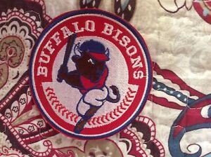 Patch Buffalo Bisons Baseball Triple A International League New York
