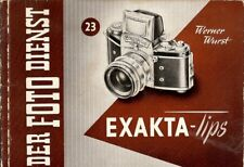 Instruction User's Manual EXAKTA TIPS German
