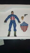 "Marvel Legends Ultimate CAPTAIN AMERICA 6"" From 2 pack Toys R Us Exclusive 2008"