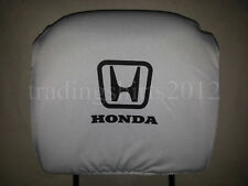 Set 2x New Head Rest Cover fit Honda Two Headrest covers pad
