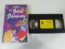 LA BELLA DURMIENTE - VHS CINTA TAPE LOS CLASICOS DE WALT DISNEY COLECCIONISTA