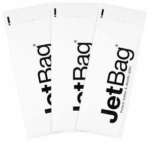 NEW - Jet Bag - Wine Bottle Protector - Mono - 3-Pack - FREE SHIPPING