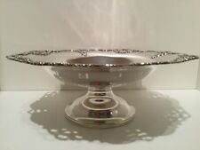 Quality Solid Sterling Silver Footed Bowl Birmingham England by Elkington & Co