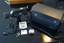 Nikon R10 Super 8 Cine camera and accessories