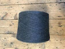 100% Wool, 2/28, 1.2kg cone, ASPHALTMEL / CHARCOAL, Jawalan