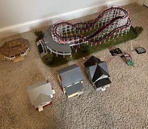 HO scale Coaster Dynamix COMET roller coaster built! plus more!