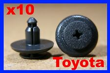 10 Toyota door trim card panel screw push type fastener retainer clips