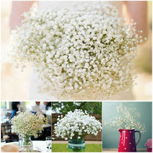 Artificial Baby's Breath Gypsophila Silk 27 Flowers Bouquet Home Party Decor-Hot