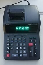 Casio Fr-2650Tm Printing Calculator Tax Calculations Mark-Up Mark-Down