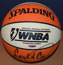 Houston Comets Signed Basketball Cooper/Thompson/Swoopes/Lamb/Chancellor TriStar