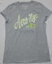 AUTHENTIC AEROPOSTALE SHIRT FOR WOMEN - GREY L