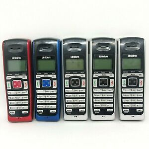 Lot of 5 Uniden DECT 6.0 Cordless Phones Selling AS IS Parts or Repair
