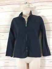Fresh Produce Womens Zippered Black Jacket Size XS Long Sleeve