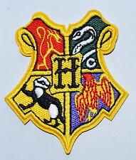 Harry HOGWARTS SCHOOL Emblem Embroidery Stick Crest Potter Iron On Patch
