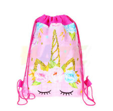 1pc Cartoon Flower Non-Woven Drawstring Bag Swimming Backpack Storage Kids Bag