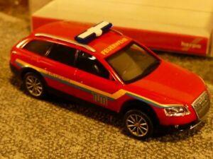 1/87 Herpa Audi A6 Feuerwehr 047593