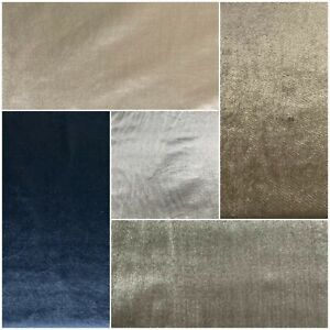 High Quality Pure Plain Velvet Upholstery Sofas Curtains Cushions Craft Fabric