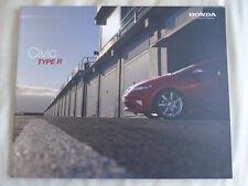 Honda Civic Type R brochure May 2010