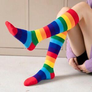 Gay Pride Lesbian Socks LGBT Rainbow Stripe Long Short High Quality Cotton Socks
