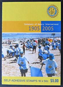 Australian Stamps: 2005 - Centenary of Rotary International Booklet