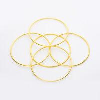 5Pcs Metal Bangles thin Slim Bracelets Women Lady's Rose Gold Jewelry Gift