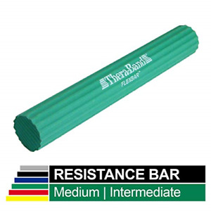 TheraBand FlexBar, Tennis Elbow Therapy Bar, Relieve Tendonitis Pain & Improve &
