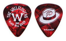 Wallflowers Jakob Dylan Red Pearl Guitar Pick - 2012 Glad All Over Tour