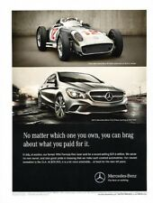 2014 Mercedes Benz CLA250 CLA-Class Original Advertisement Print Art Car Ad J888
