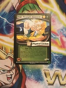 Dragonball Z CCG Babidi Saga PROMO P6 MAJIN STRENGTH MANEUVER Ltd Ed NM