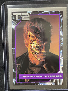 Vintage 1991 T2 Terminator 2 Judgement Day Impel Movie Card #118 Arnold